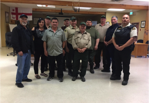NCC Guardians and MFN Conservation Officers